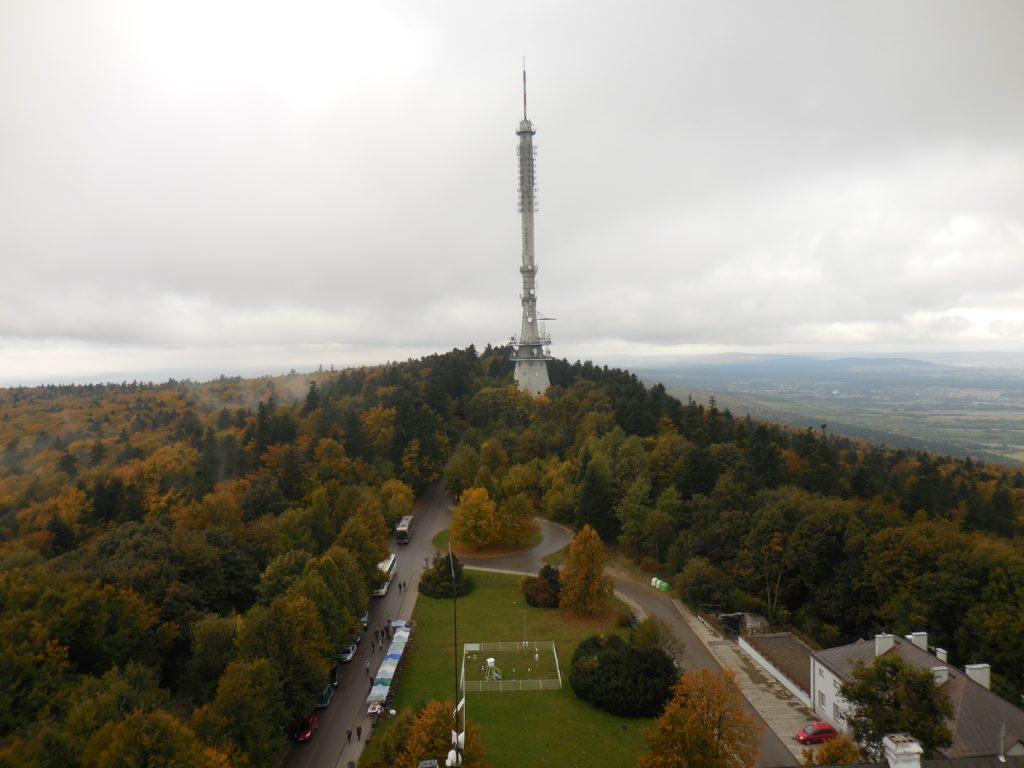 Wieża telewizyjna na Świętym Krzyżu