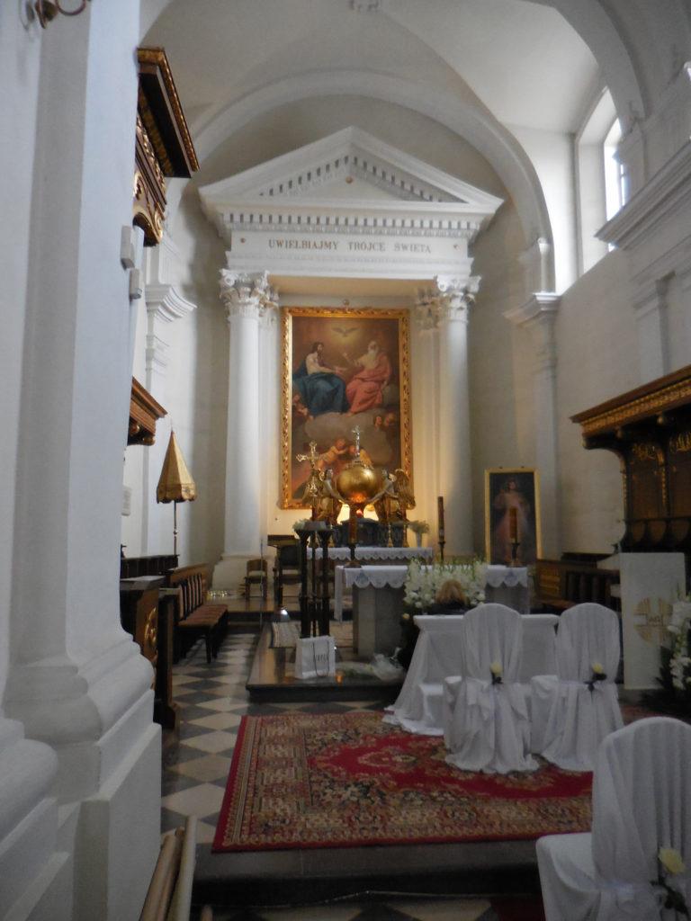 Wnętrze Klasztoru na Świętym Krzyżu