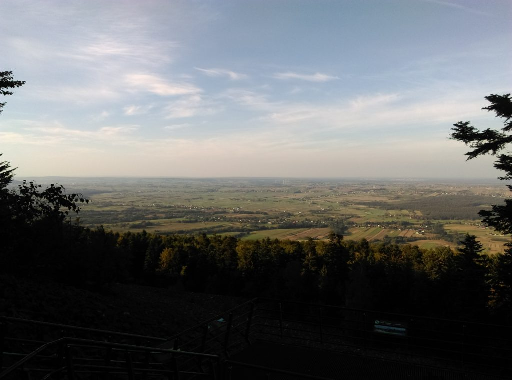 Widok z gołoborza