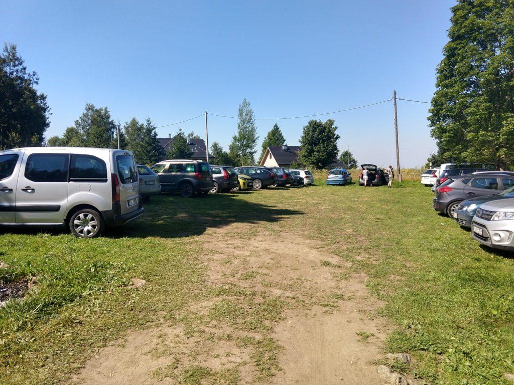 Parking Ostroja Jodłów