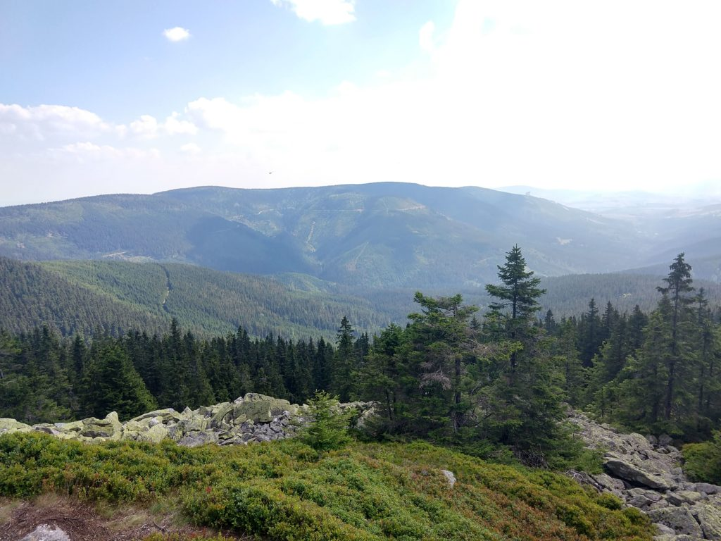 panorama Sudetów wschodnich