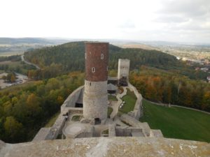 Zamek Królewski w Chęcinach – jedna z największych atrakcji turystycznych Gór Świętokrzyskich.