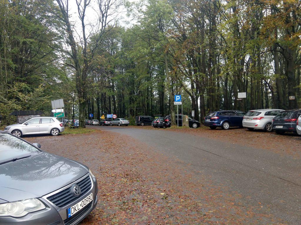 Przełęcz Jugowska parking