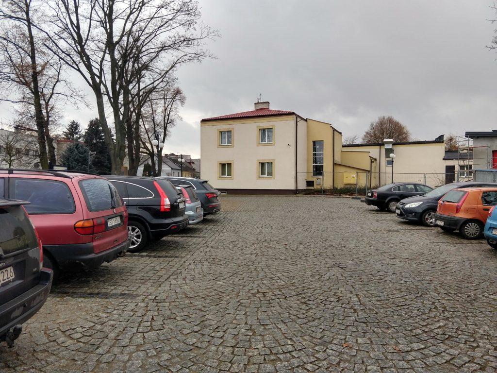 Klasztor Cystersów parking