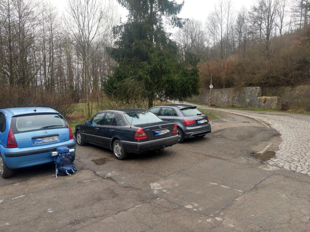 Czupel parking