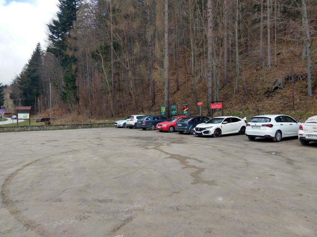 Parking Lipowa na Skrzyczne