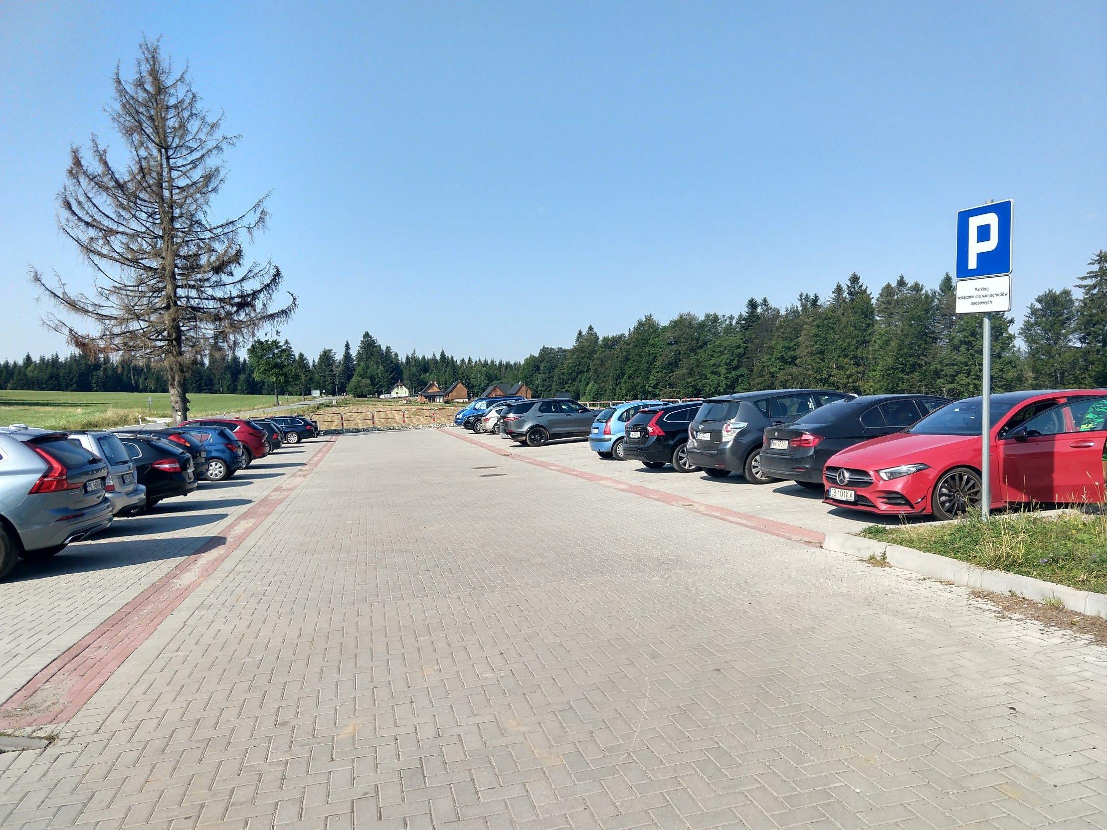 Jagodna parking