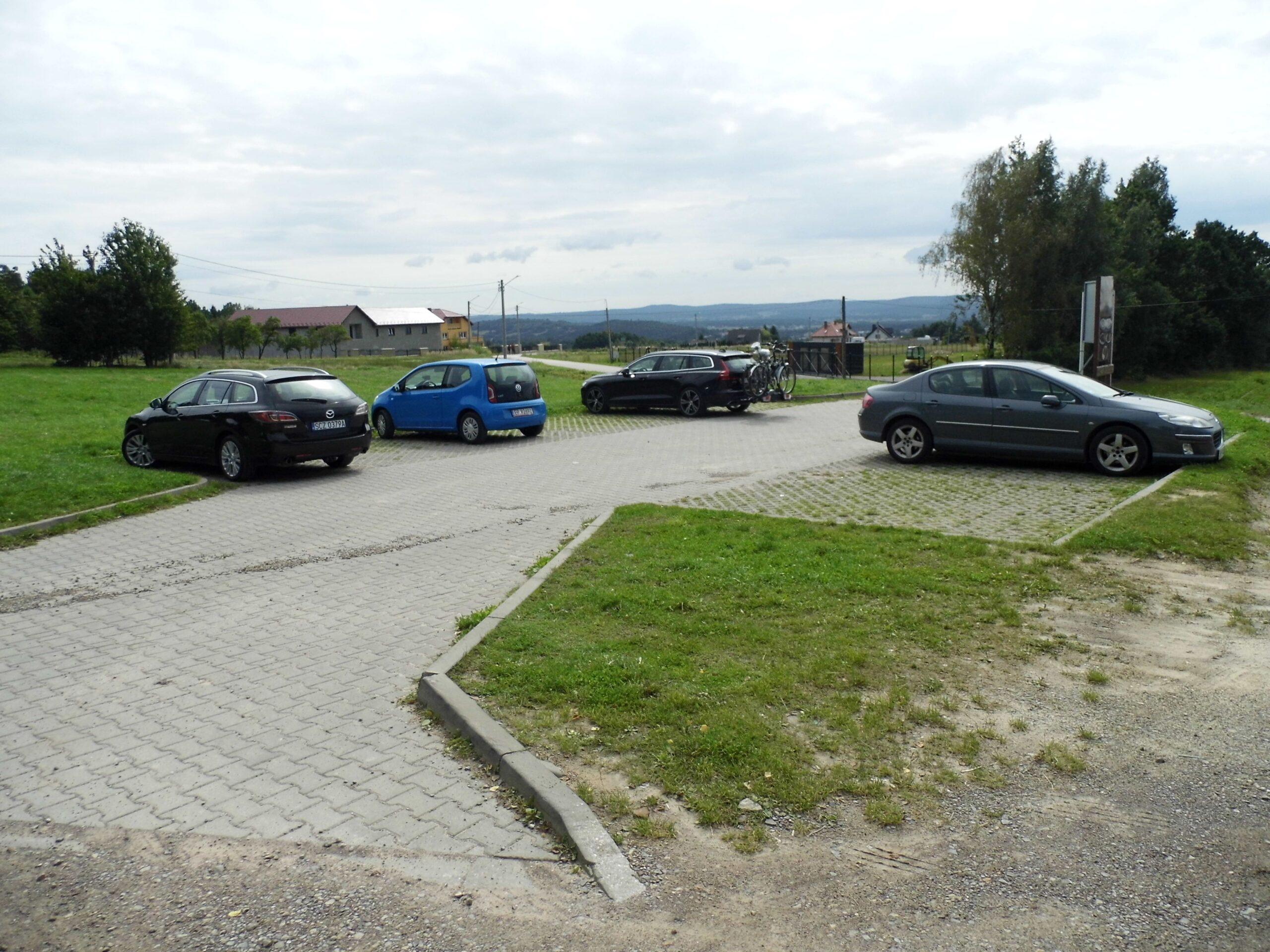 Chata Kaka parking